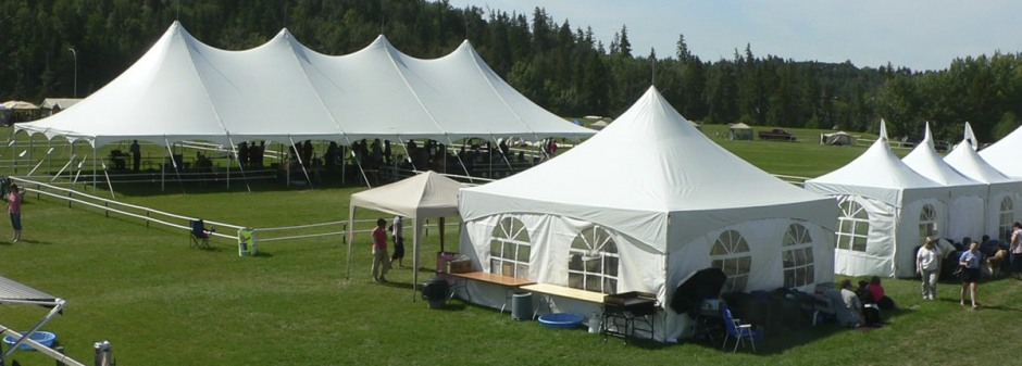 white tents at the 2012 show